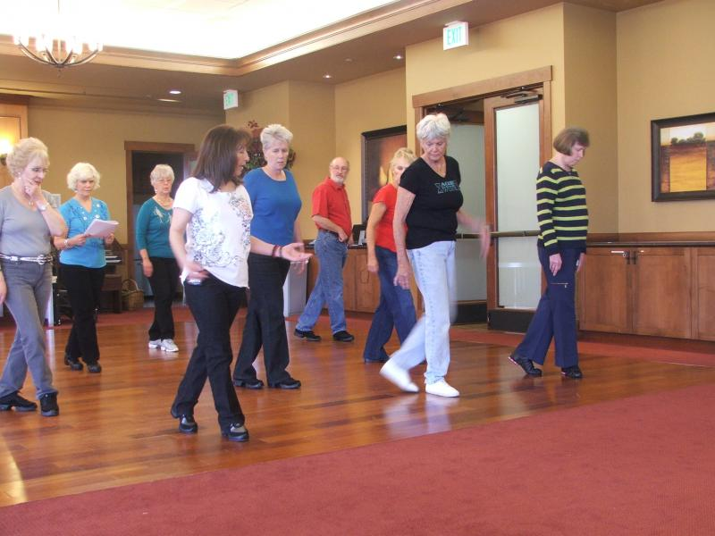 Betty teaching in Broomfield, CO